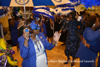 Southern Region Centennial Launch