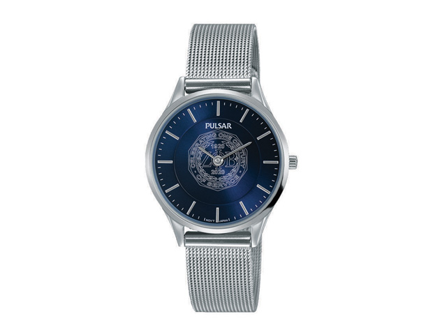Blue Face Brclt Watch