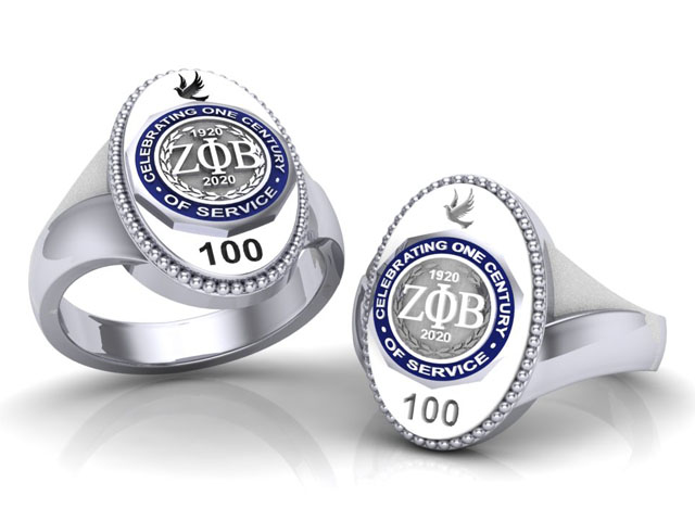 Cent Oval Ring with Cent Logo-Final