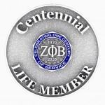 Centennial Life Member Pin