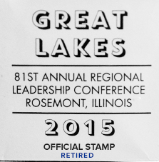 81st Great Lakes Conference Stamp