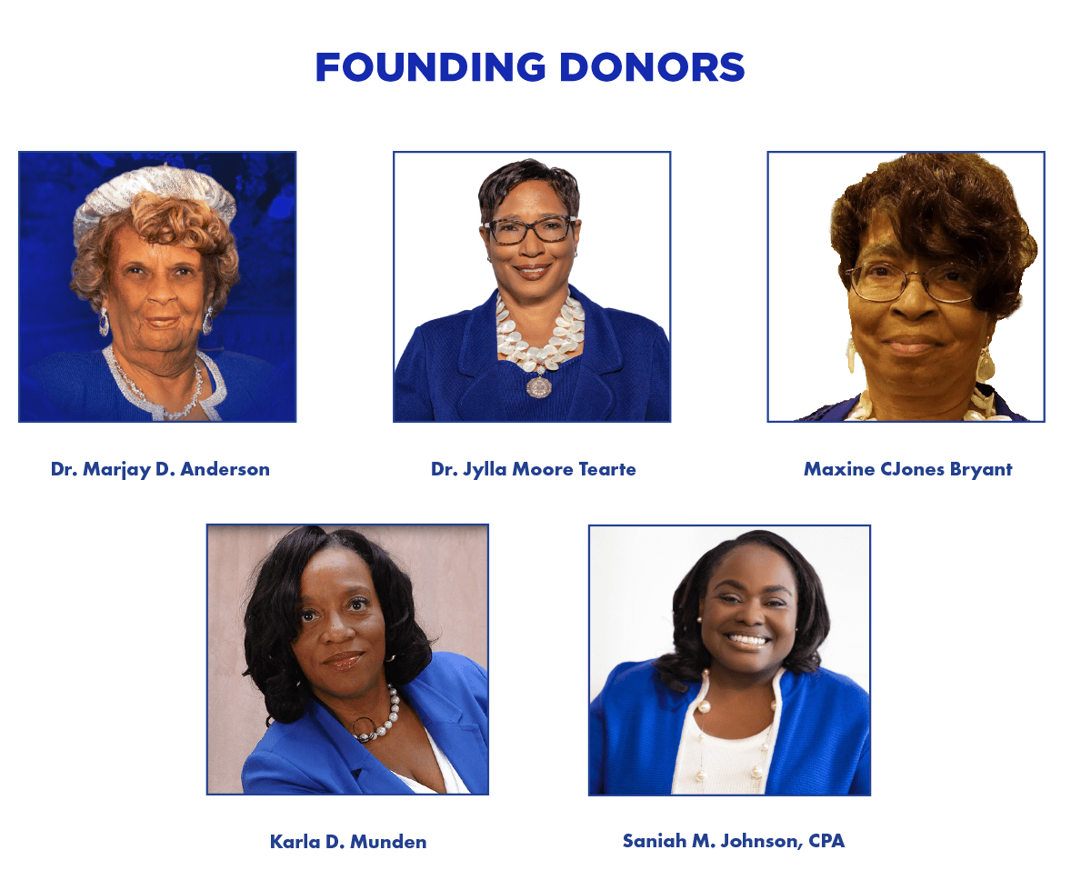 Endowed Scholarship Founding Donors