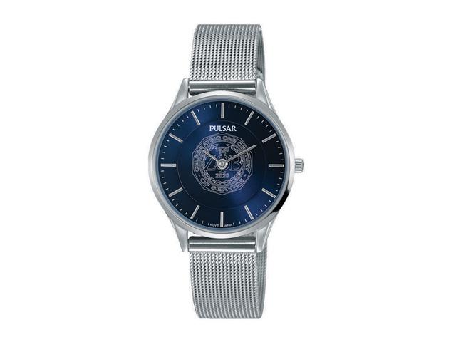 Blue Face Brclt Watch