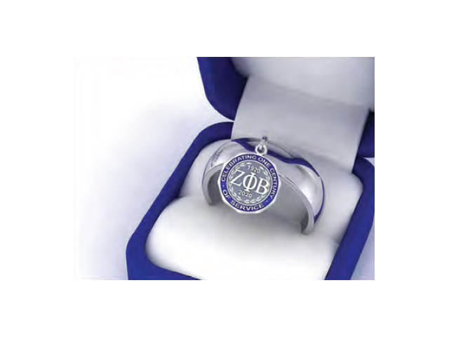 Charm Ring with Cent Logo-Final