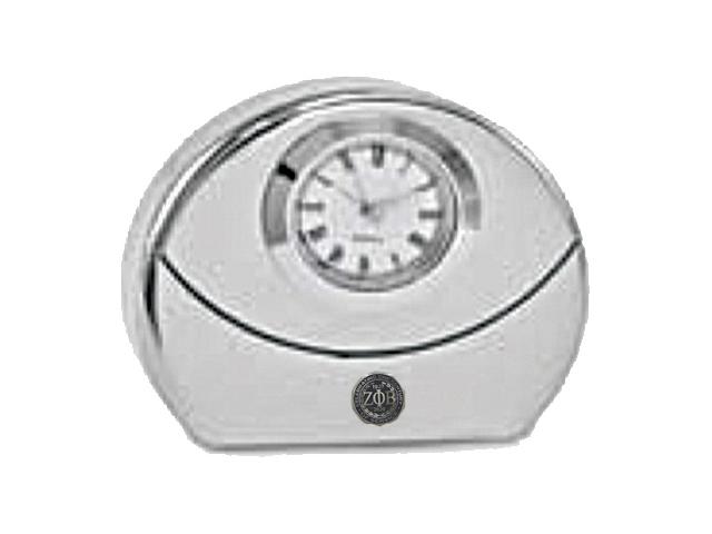 a7uSilver-Tone-Desk-Clock-with-Emblem