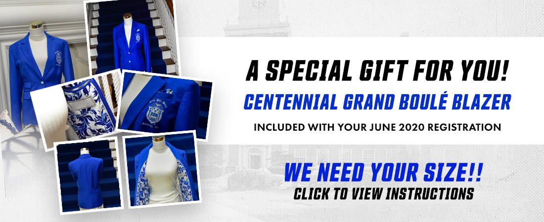 2020 Centennial Blazer Gift